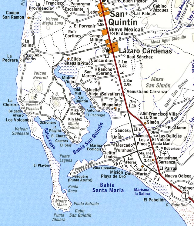Day 8 San Quintin To The U S